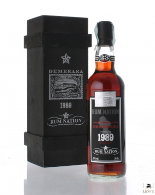 Rum Nation 1989 23 years old Demerara
