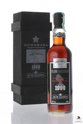 Rum Nation Demerara 1990 23 years old