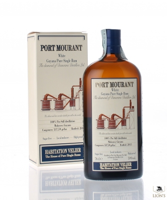 Rum Port Mourant white Guyana 59% Habitation Velier