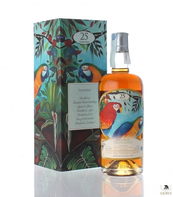 Rum Trinidad 1991 25yo 51% Silver Seal