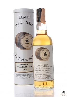 Scapa 1989 9 years old Signatory
