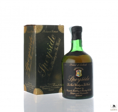 Speyside 20 Years Old French Import