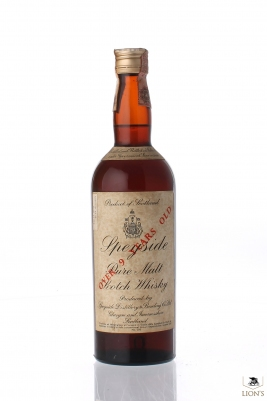 Speyside 9 Years Old Short Cap