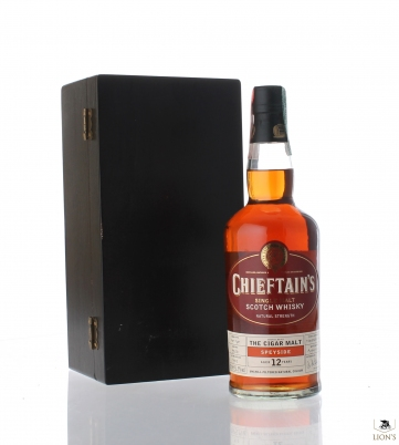 Speyside Cigar Malt 12yo 51.5% 70cl wood box Chieftan's 900 bottles
