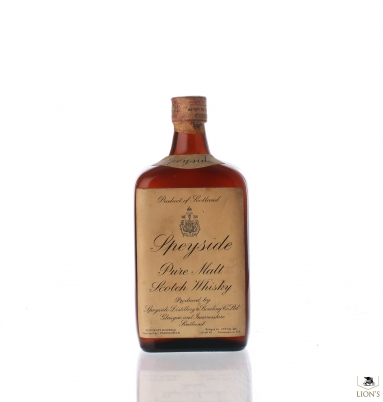 Speyside Pure Malt Flat bottle