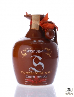 Springbank 12  years old Red Ceramic Flagon