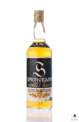 Springbank 12 years 43% 75cl Sutti Imp.