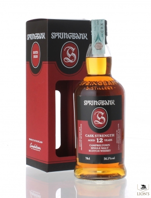Springbank 12 years old 56.5%