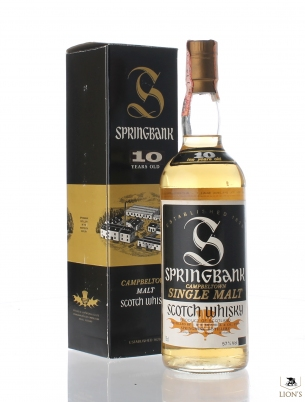 Springbank 12yo 100 proof 57%