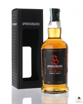 Springbank 12 years old 53.2% cask strenght
