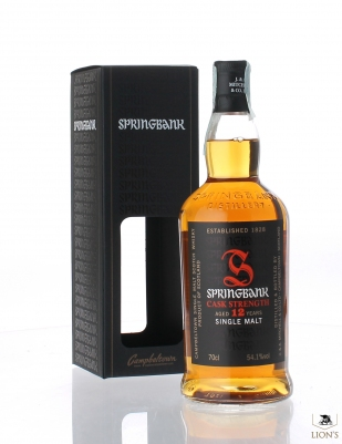 Springbank 12 years old 54.1%