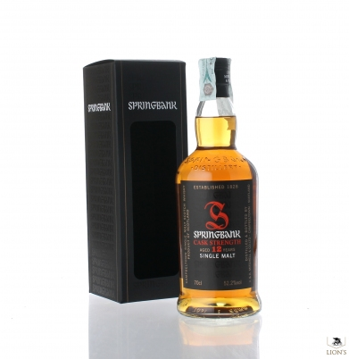Springbank 12 years old  52.2% cask strength
