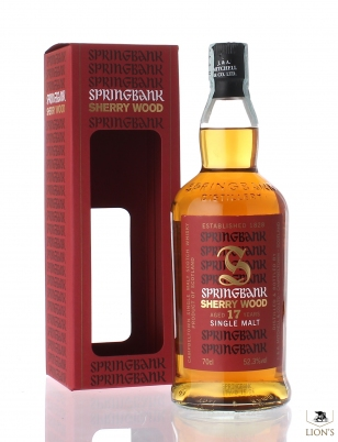 Springbank 17 years old 52.3% sherry wood