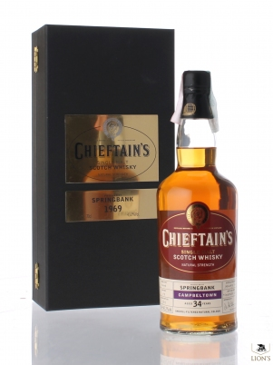 Springbank 1969 34yo 43.2% Chieftain's