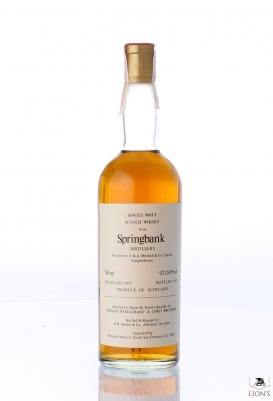 Springbank 1969 Duthie For Corti