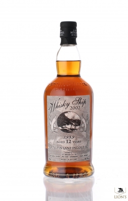 Springbank 1989 12 years whisky ship 2002