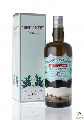 Springbank 1992 over 17 years old Silver Seal Sestante