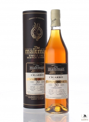 Springbank 1996 20 years old The Maltman