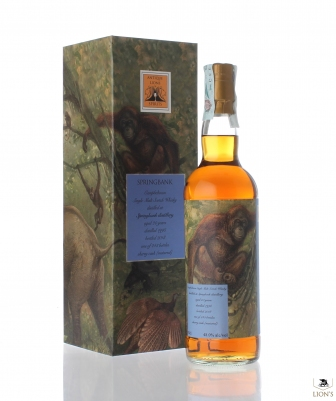 Springbank 1998 20 years old Antique Lions of Whisky