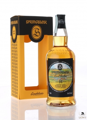 Springbank 1999 16yo 54.3% Local Barley