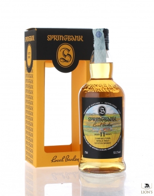 Springbank 2006 11 years old 53.1% Local Barley