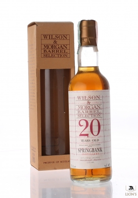 Springbank 20 years old W&M