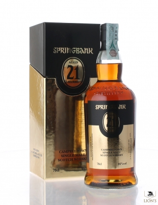 Springbank 21 years old Gold Edition