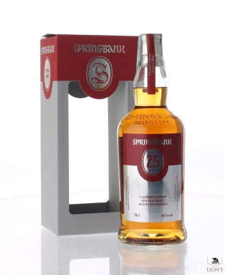 Springbank 25 years old B2016