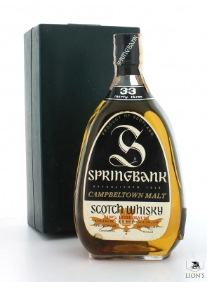 Springbank 33 Years Old Pear Shaped