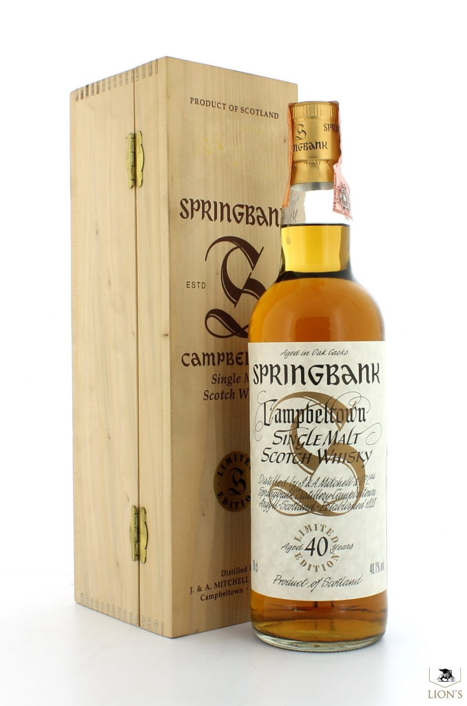 springbank 40yo millennium one of the best types of scotch. Black Bedroom Furniture Sets. Home Design Ideas