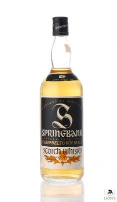Springbank 5 years old Small S