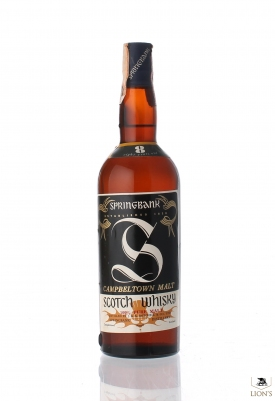 Springbank 8 Years Old cork cap Big S