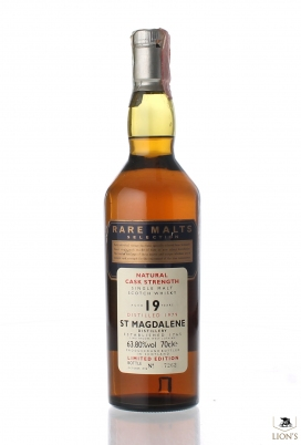 St. Magdalene 1979 19 years old Rare Malts
