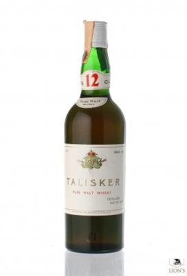 Talisker 12 years old Pure Malt APE Import