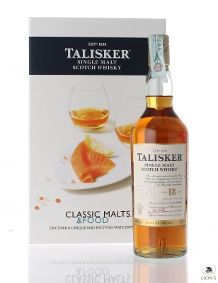 Talisker 18 years Classic Malts & Food