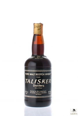 Talisker 1957 21 Years Old Cadenhead Sherry Wood