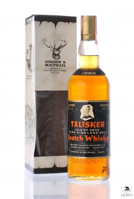 Talisker 1958 G&M black label