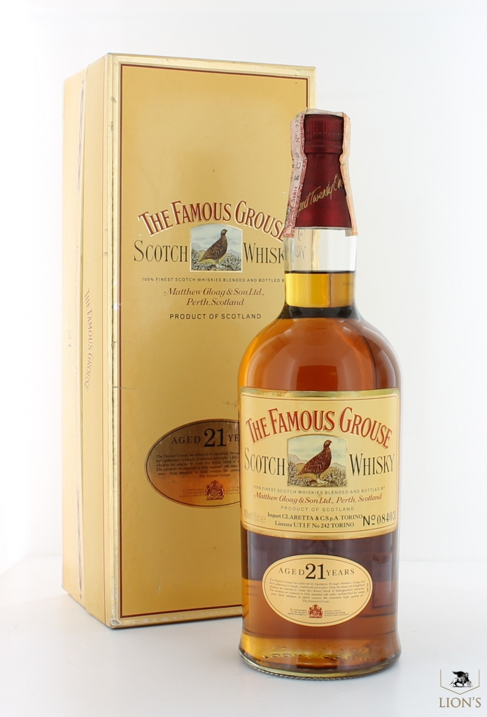 The Famous Grouse 21 Years Old One Of The Best Types Of