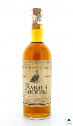 The Famous Grouse over 7  years old