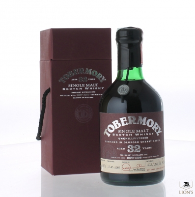 Tobermory 1972 32 years old 49.5%