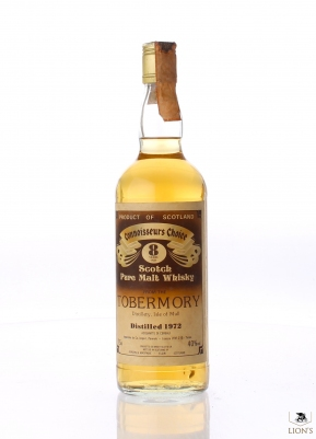 Tobermory 1972 8 Years Old Connoisseur's Choice