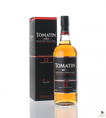 Tomatin 12 years old 40%