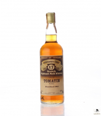 Tomatin 1964 17 years old Connoisseur's Choice G&M
