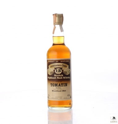 Tomatin 1964 18 Years Old Connoisseurs Choice