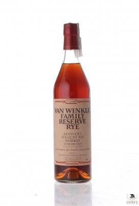 Van Winkle family reserve rye 13 years old 47.8%