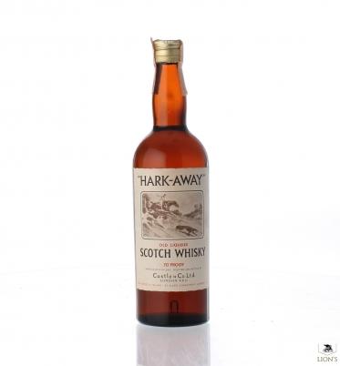 Whisky Hark-Away 70 proof