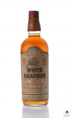 White Heather 5yo 100cl