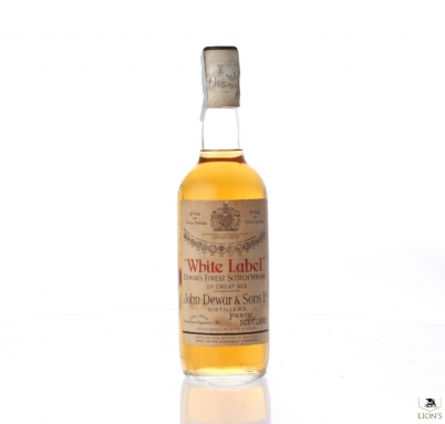 White Label J Dewar white capsule