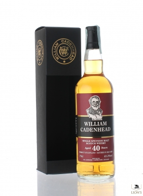W. Cadenhead Speyside Single Cask 40yo 40.2%